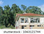 old architecture of a sanatorium | Shutterstock . vector #1063121744