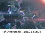 abstract background with... | Shutterstock . vector #1063151876