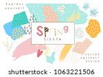 vector abstract covers... | Shutterstock .eps vector #1063221506