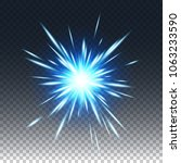 game visual effects and glowing ...   Shutterstock .eps vector #1063233590