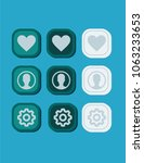 buttons ui design icon symbol...