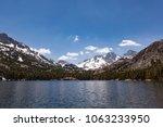 Mount Ritter In Sierra Nevada...