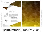 dark yellow vector  template...