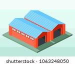 isometric vector illustration... | Shutterstock .eps vector #1063248050