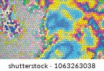 abstract colorful mosaic.... | Shutterstock .eps vector #1063263038