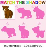 find the correct shadow of the... | Shutterstock . vector #1063289930