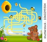 vector illustration of help... | Shutterstock .eps vector #1063295504