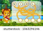 vector illustration of logic... | Shutterstock .eps vector #1063296146