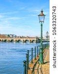 saint servatius bridge in... | Shutterstock . vector #1063320743