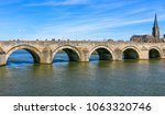 saint servatius bridge in... | Shutterstock . vector #1063320746