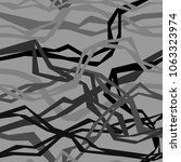 angular interlacing threads | Shutterstock .eps vector #1063323974