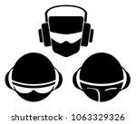 dj logo vector illustration