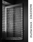 light entering through the... | Shutterstock . vector #106335098