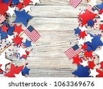 american independence day ... | Shutterstock . vector #1063369676