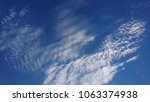 cirrus cloud   blue sky and... | Shutterstock . vector #1063374938