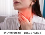 close up of a woman's hand... | Shutterstock . vector #1063376816