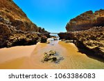 torquay is promoted as the... | Shutterstock . vector #1063386083