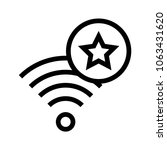 wifi rating vector icon