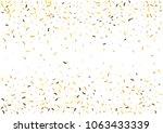 festive color strip confetti... | Shutterstock .eps vector #1063433339