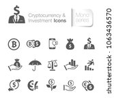 cryptocurrency   investment... | Shutterstock .eps vector #1063436570