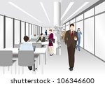 image of business   office  ... | Shutterstock .eps vector #106346600