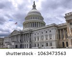 east front view of the u.s.... | Shutterstock . vector #1063473563