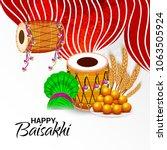 vector illustration of a... | Shutterstock .eps vector #1063505924