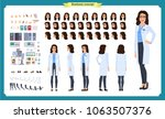 scientist character creation... | Shutterstock .eps vector #1063507376