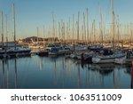 howth harbour  co dublin ... | Shutterstock . vector #1063511009