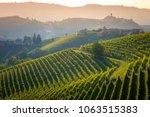 barolo wine region  langhe ... | Shutterstock . vector #1063515383