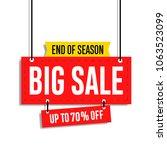 sale banner template design ... | Shutterstock .eps vector #1063523099