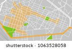 vector map city parma | Shutterstock .eps vector #1063528058