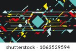 art design music background | Shutterstock .eps vector #1063529594