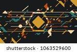 art design music background   Shutterstock .eps vector #1063529600