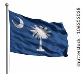flag of south carolina.... | Shutterstock . vector #106353038