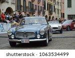 maserati a6g 1957  1000 miles... | Shutterstock . vector #1063534499