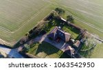 aerial bird view photo single... | Shutterstock . vector #1063542950