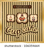 sweet cup cake design