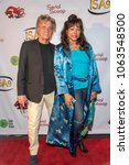 Small photo of Shadoe Stevens, Beverly Cunningham attend 9th Annual Indie Series Awards at The Colony Theatre, Burbank, CA on April 5th, 2018