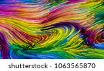 color in motion series.... | Shutterstock . vector #1063565870