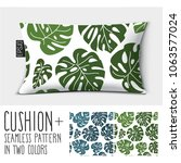 design vector pillow  cushion...   Shutterstock .eps vector #1063577024