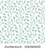 seamless light blue leaf... | Shutterstock .eps vector #106360640