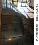 polished metal plates | Shutterstock . vector #1063702763