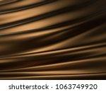 luxury golden liquid or wave... | Shutterstock . vector #1063749920