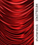 smooth elegant silk or satin.... | Shutterstock . vector #1063750184