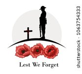 Anzac Day Banner  Silhouette O...
