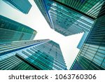the architectural landscape of... | Shutterstock . vector #1063760306