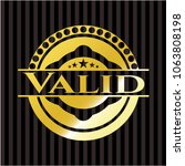 valid shiny badge | Shutterstock .eps vector #1063808198
