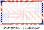stock illustration   framed... | Shutterstock . vector #1063810604