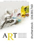 art poster background | Shutterstock . vector #106381760
